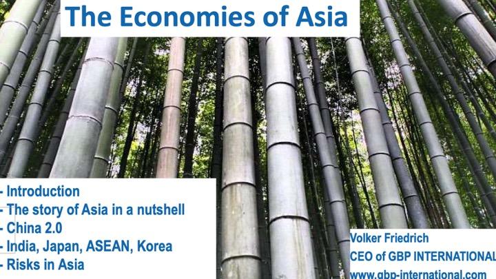 Volkswirtschaften Asiens